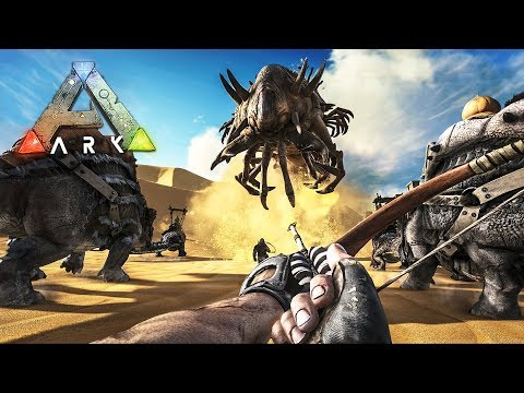 ARK: Survival Evolved - NEW SCORCHED EARTH SERIES!! (Ark Scorched Earth)