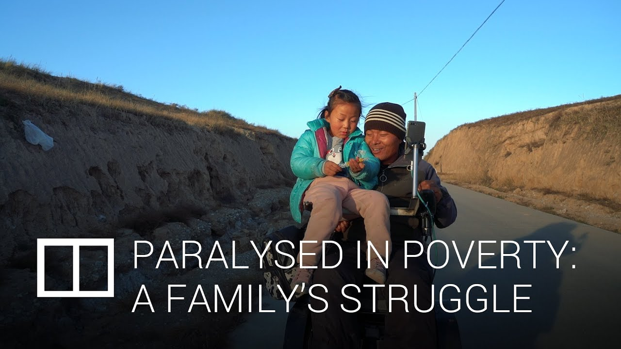 Paralysed in poverty: A family's struggle