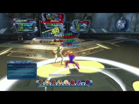 DCUO Atomic Dps PVP loadout after (Stat Revamp )