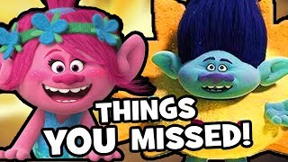DreamWorks TROLLS HOLIDAY Things You Missed & Easter Eggs