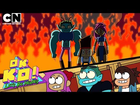 OK K.O. Let's Be Heroes | Let's Watch The Pilot | Cartoon Network