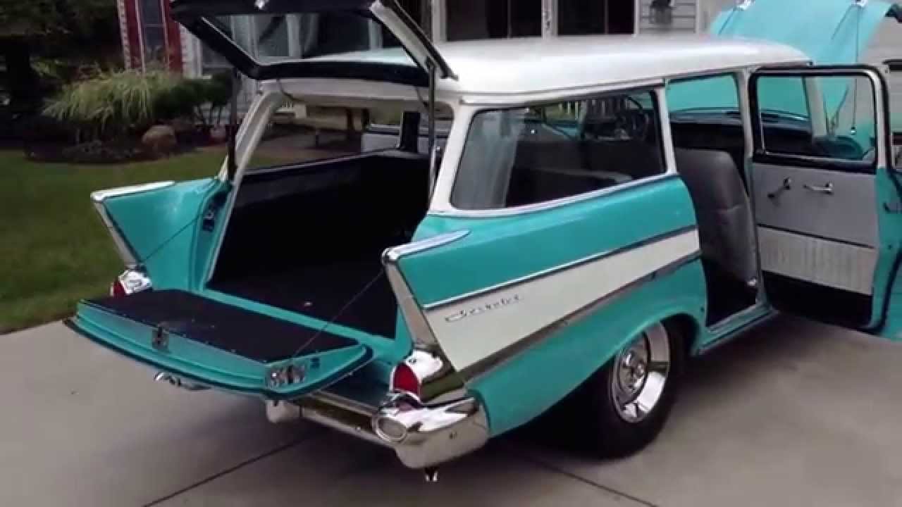 All Chevy 1957 chevy wagon for sale : 1957 Chevy Wagon - YouTube