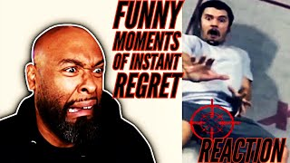 Funny moments of instant regret reaction 2