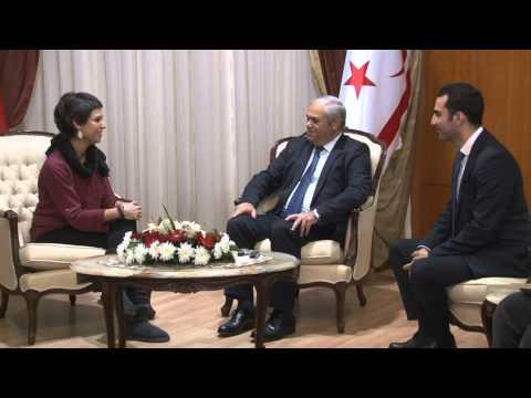 Başbakan  Yorgancıoğlu ( The International Union of Socialist Youth)  gençlerini kabul etti.