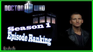 Doctor Who Season 1 Episode Ranking (NuWho)