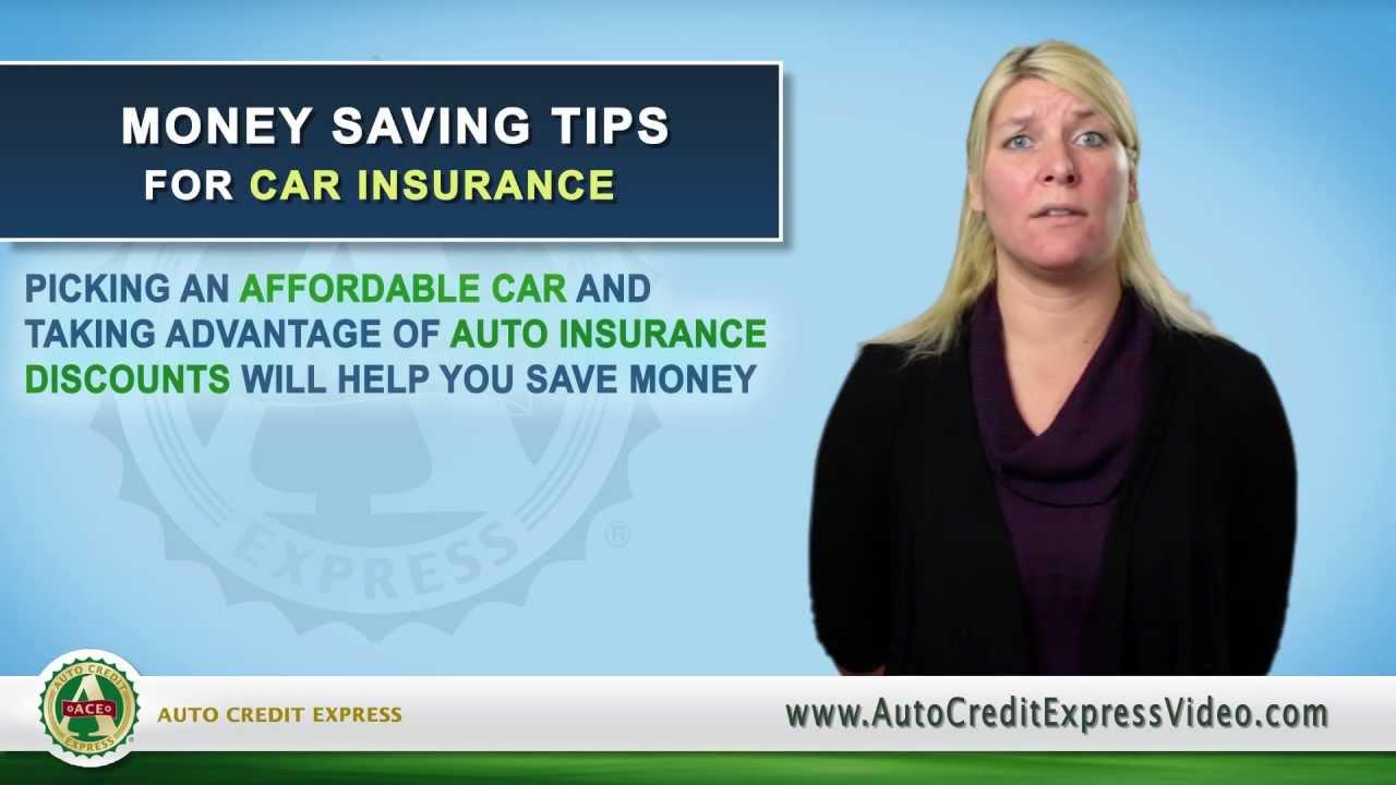 Money Saving Tips For Car Insurance Youtube