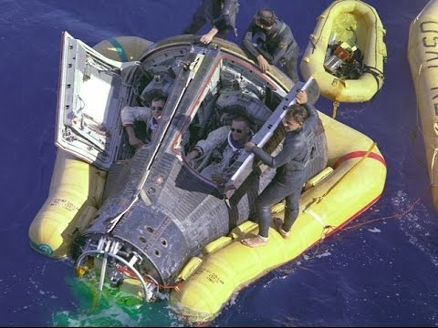 Gemini 8 - Re-Entry & Splashdown (Full Mission 4)