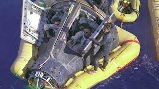 Gemini 8 - Re-Entry & Splashdown (Full Mission 4)