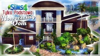 DOM Z PODSTAWY GRY - NOWOCZESNY | Only base game | BEZ MODÓW/NO CC - The Sims 4 speed build