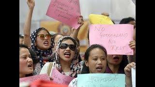 Darjeeling agitation reaches Delhi, Gorkhas protest at Jantar Mantar