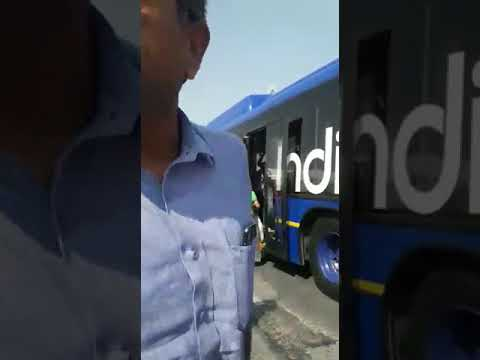Indigo security attacking passenger in tarmac !
