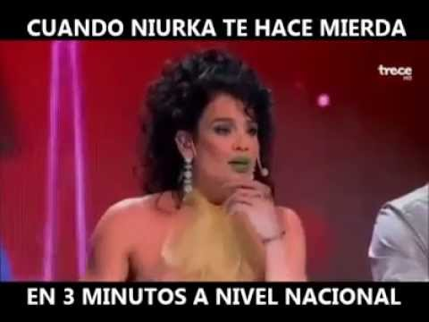 Cuando Niurka te hace  mierda en 3 minutos