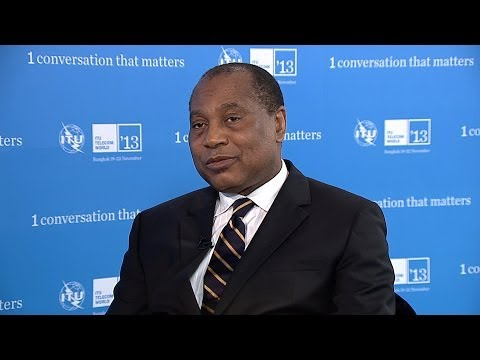 Dr Eugene Juwah, CEO, Nigerian Communications Commission - Interview ITU Telecom World 2013