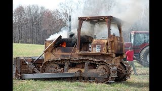 Extreme DIESEL BULLDOZER cold start compilation -40 Siberia l Cars and Engines
