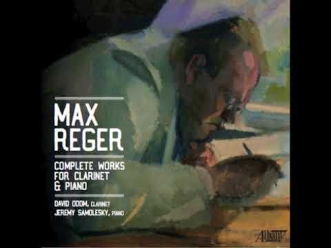 REGER: Clarinet Sonata in B-flat major (movement 2)