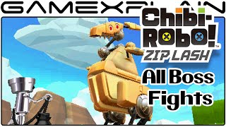 Chibi Robo! Zip Lash -  All Boss Fights