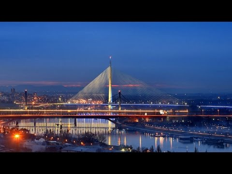 Most Na Adi Ada Bridge Beograd Youtube