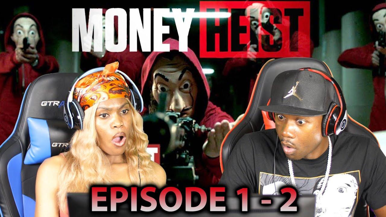 Download Money Heist Season 1 Episode 1 - 2 REACTION