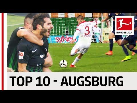 Top 10 Goals - FC Augsburg - 2016/17 Season