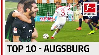 Top 10 Goals - FC Augsburg - 2016/17 Season