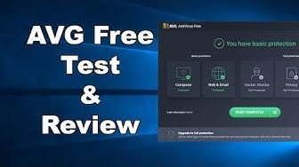 AVG FREE Antivirus Test & Review 2019 - Antivirus Security Review
