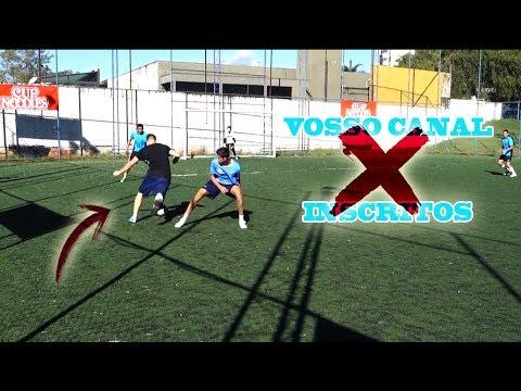 JOGO CONTRA!! - INSCRITOS x VOSSO CANAL (jogo pegado!!)