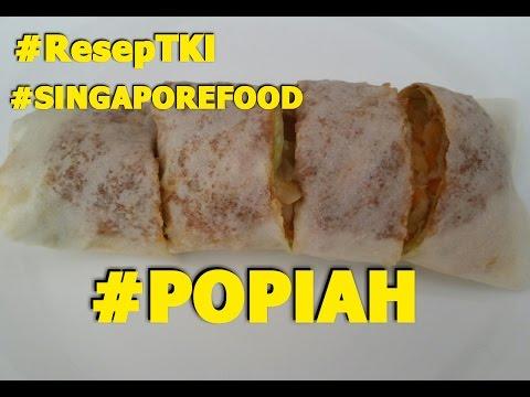 HOW TO MAKE SINGAPORE POPIAH#ResepTKI