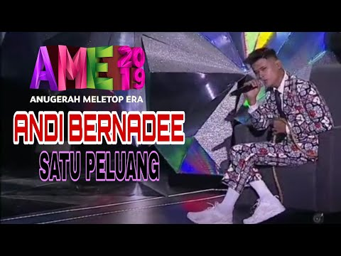 Satu Peluang - Andi Bernadee [LIVE] AME19