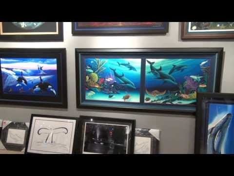 Wyland Gallery in Fort Lauderdale Florida Grand Opening