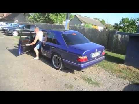 Auto club Beregszász - Mercedes-Benz  w124 drift