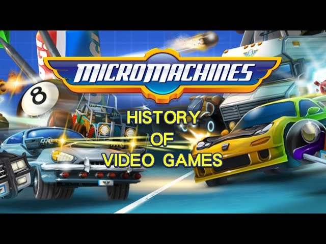 History of Micro Machines (1991-2017) - Video Game History