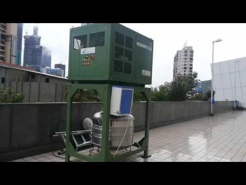 Drinking water from Air - video