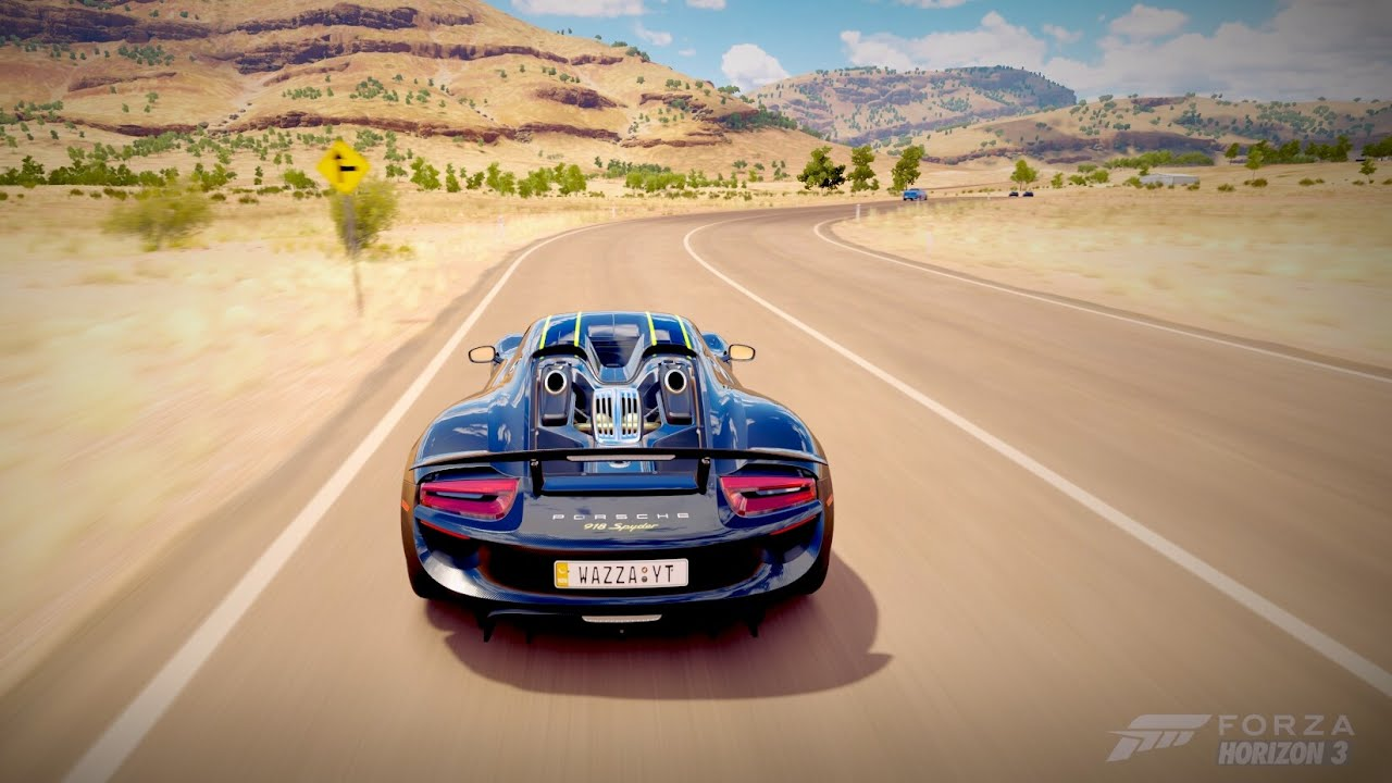 forza horizon 3 pc porsche 918 spyder forzathon youtube. Black Bedroom Furniture Sets. Home Design Ideas