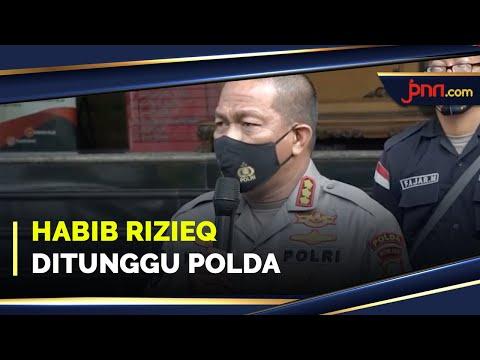 Kedatangan Habib Rizieq Masih Ditunggu Polda Metro Jaya