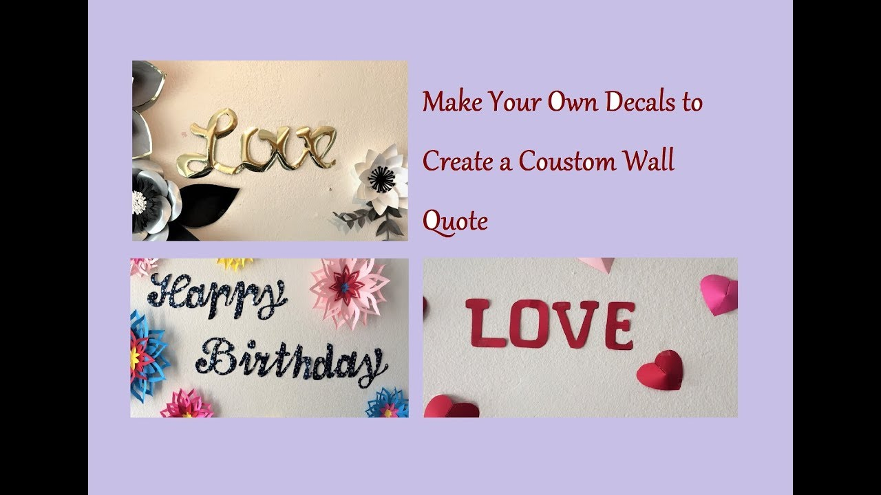 how to simply create custom handwritten letter banner diy your own