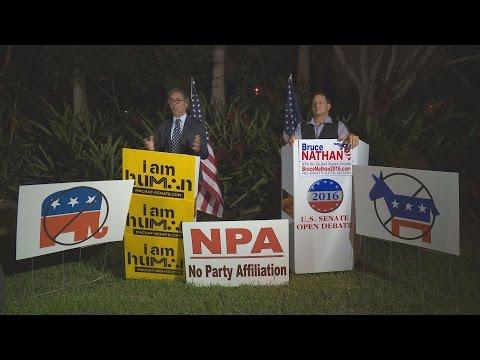 US Senate Debate NPA/ No Party Affiliation, Florida Broward College 10-26-2016