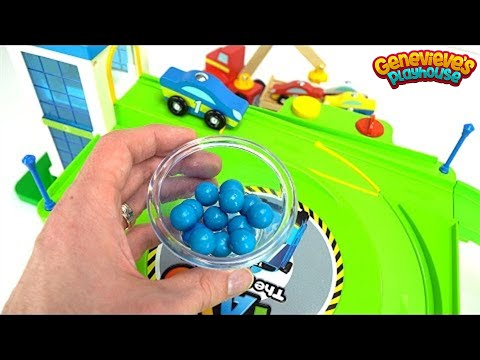 Learn Colors With Toy Cars And Wooden Lifting Truck Youtube