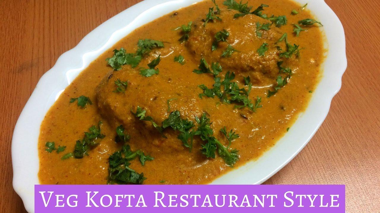 Restaurant Style Veg Kofta Curry | Cheesy Aloo Kofta Curry ...