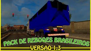 Como baixar e instalar Pack de Reboques Brasileiros para ETS2 - V 1.18