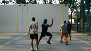 daniel h and william h vs marc c and jerry p 2017 08 21 handball game