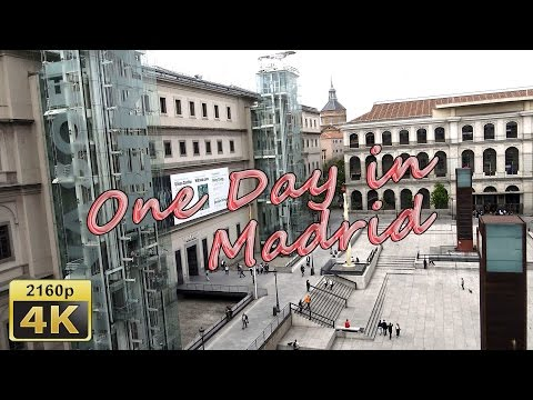 Back to Madrid and Visit Atocha - Spain 4K Travel Channel