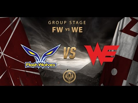 [14.05.2017] FW vs WE [MSI 2017][Group Stage]