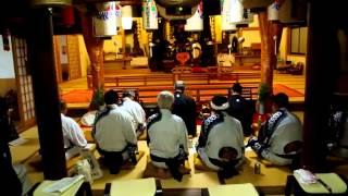 田峯の念仏踊り