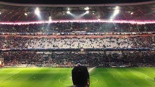 FC BAYERN - Paris Saint-Germain Champions League Gruppe B 2017/18 Stadium Atmosphere
