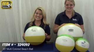 "Customized 20"" Beach Balls #324092 for Marketing"