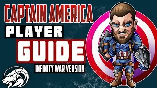Captain America Infinity War Player Guide - Marvel Contest of Champions