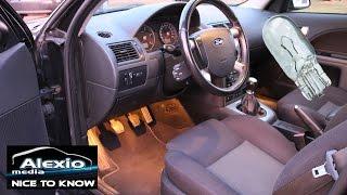 💡Fussraumbeleuchtung aktivieren im Ford Mondeo 3, Focus MK2 - activate footwell lighting  HD