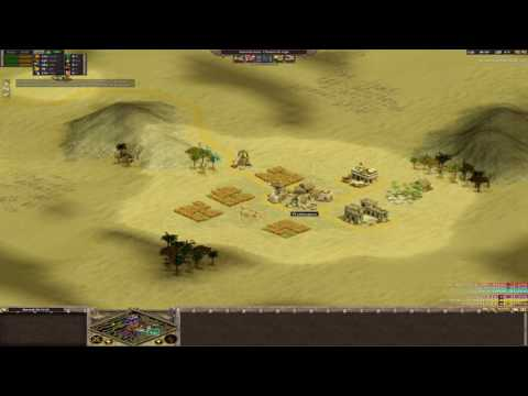 [Rise of Nations] Nomad 3vs3 Very Expensive & slow (Great Sahara) [AS Clan]