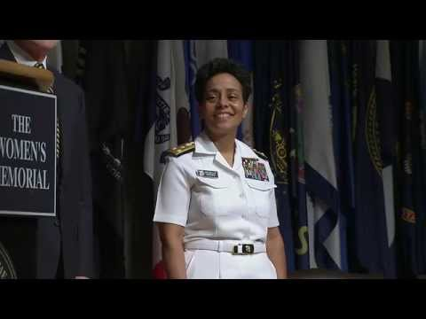 First Female Four-Star Admiral Pinned