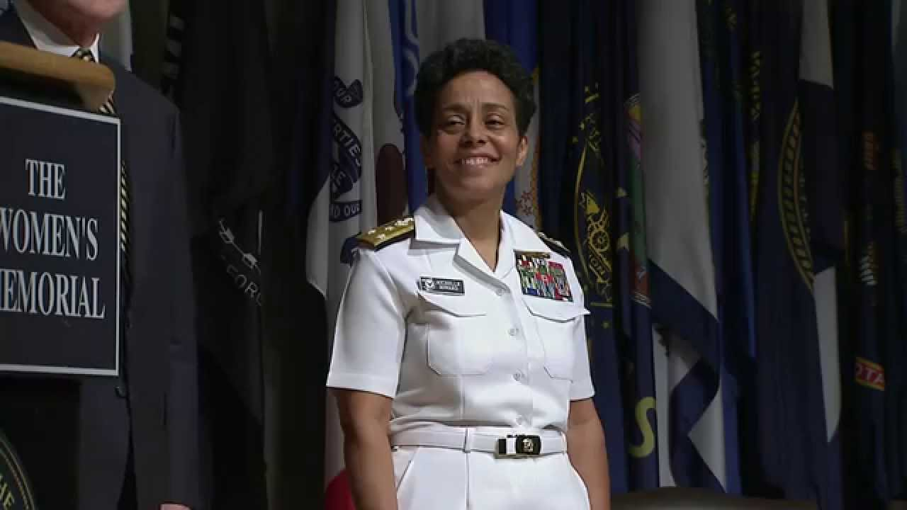 First Female Four-Star Admiral Pinned - Youtube-7863